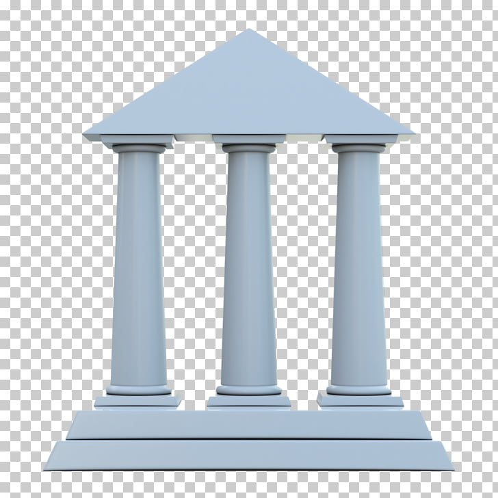 Column Parthenon , roman columns PNG clipart.
