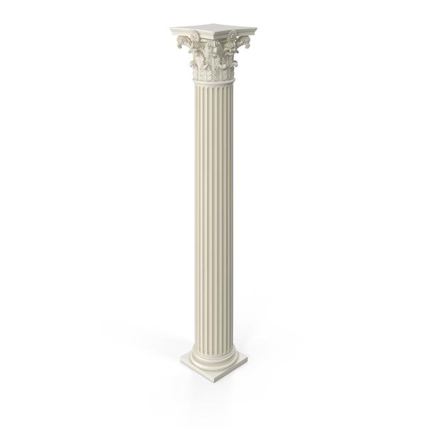 Fluted Roman Corinthian Column PNG Images & PSDs for.