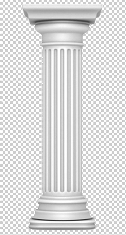 Column Doric Order Ancient Roman Architecture Classical.