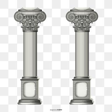 Roman Columns PNG Images.