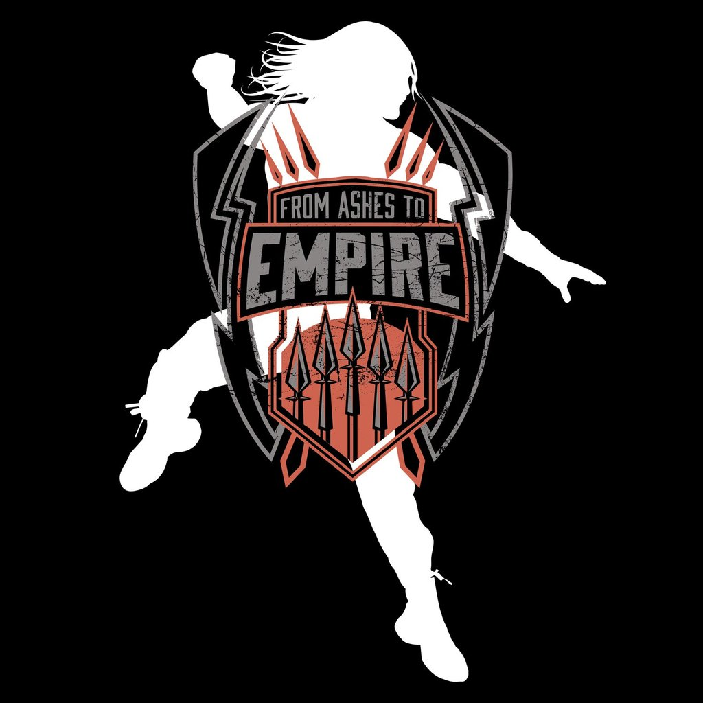 WWE Roman Reigns Empire Logo Official Women\'s Long Tank Dress (Black).