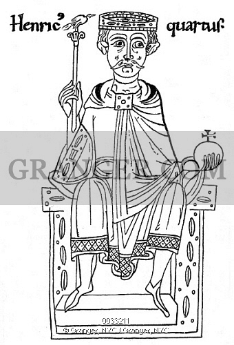 Image of HENRY IV OF GERMANY.