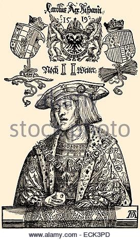 Charles V, 1500.