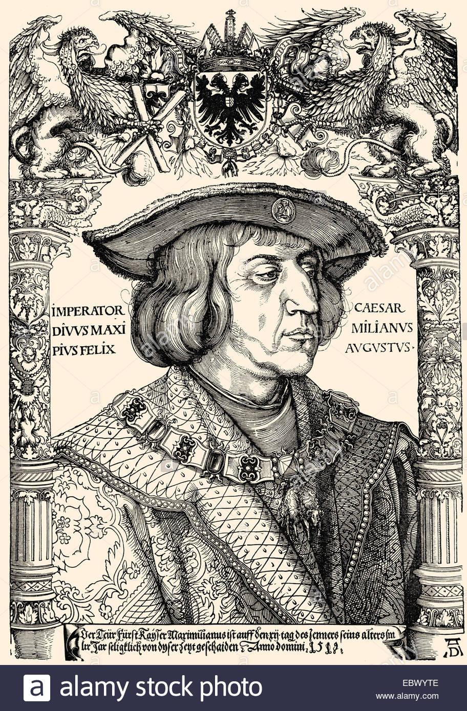 Maximilian I Von Habsburg, 1459.