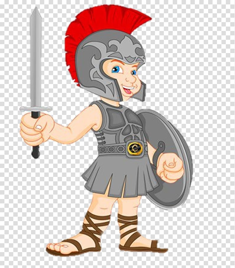 Ancient Rome Gladiator , gladiator transparent background.