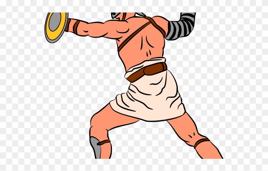 Gladiator Clipart Roman Person.