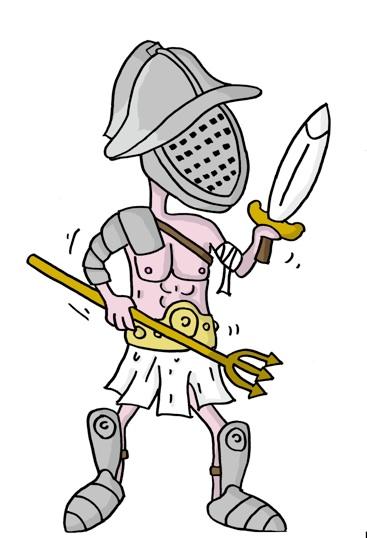 Gladiator Clipart.