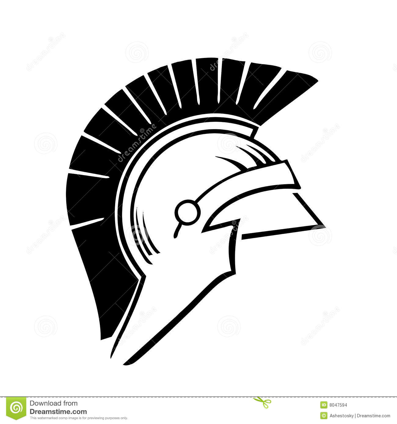 Trojan Helmet Clipart.