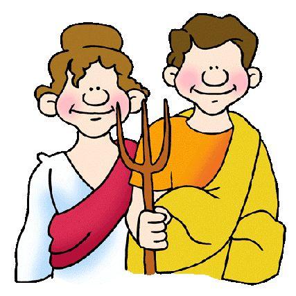 Roman People Cheering Clipart.