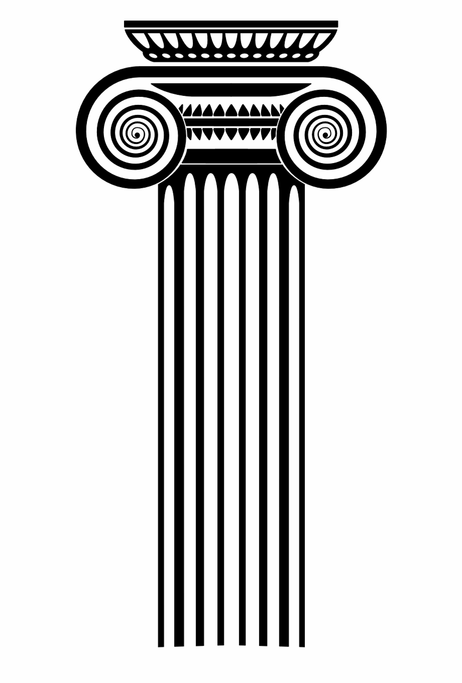 Pillar Roman Column Ancient Png Image.