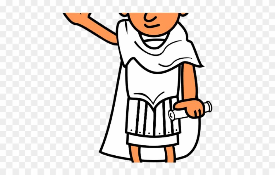 Rome Clipart Roman Girl.