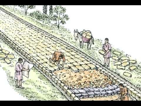 Roman road clipart.