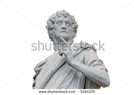 Roman Statue Stock Images, Royalty.