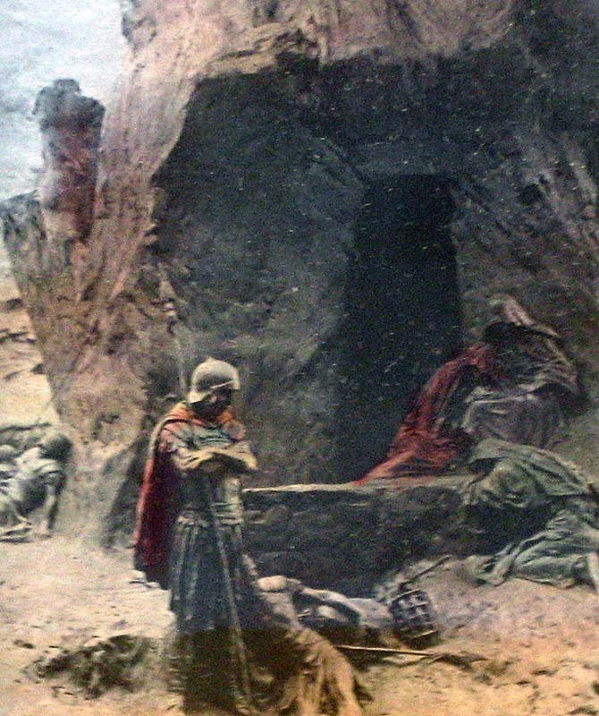 Guards Tomb Of Jesus Pictures to Pin on Pinterest.