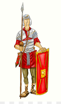 Roman Soldier PNG.