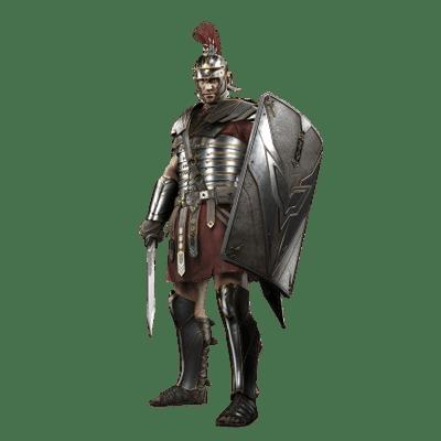 Roman Soldier transparent PNG.