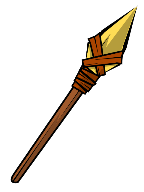 Collection of Spear clipart.