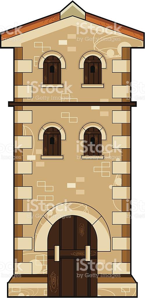 Roman Tower stock vector art 165624170.