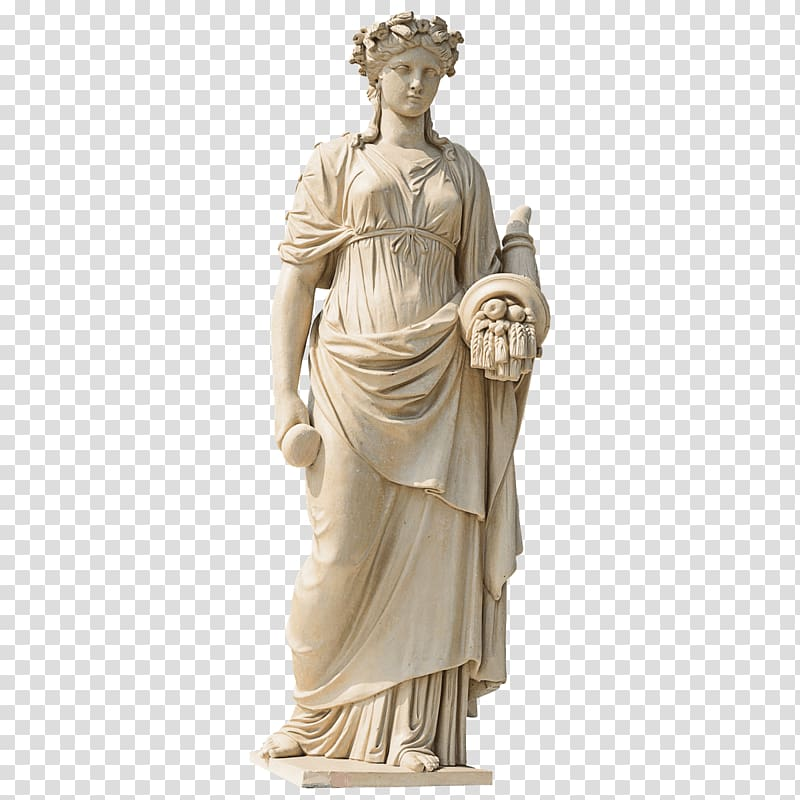 Woman statute, Marble sculpture Statue Garden sculpture.