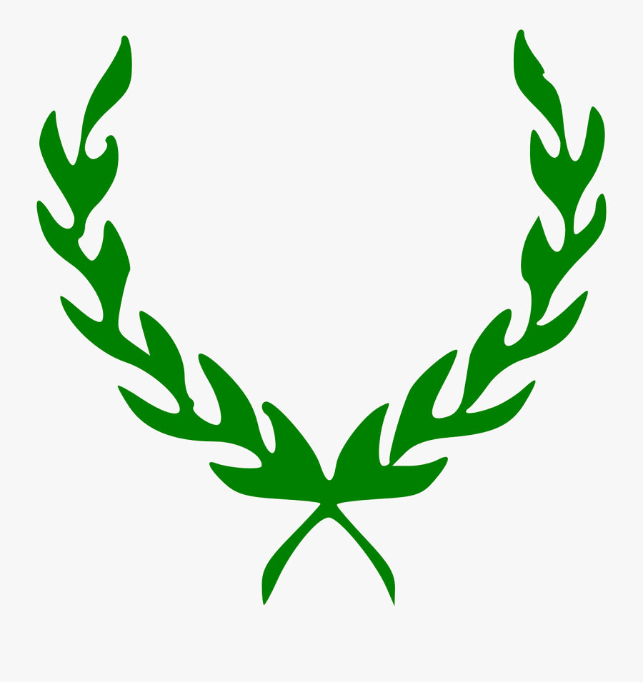 Laurel Wreath Rome Cesar Leaf Png Image.