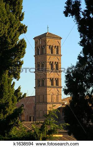 Stock Photo of Chiesa di Santa Francesca Romana k1638594.