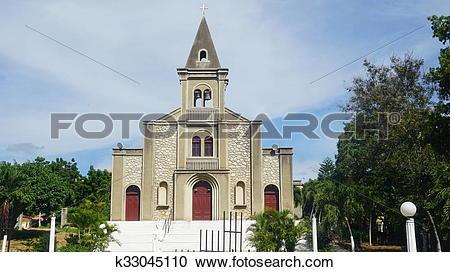 Stock Photography of Church in La Romana k33045110.