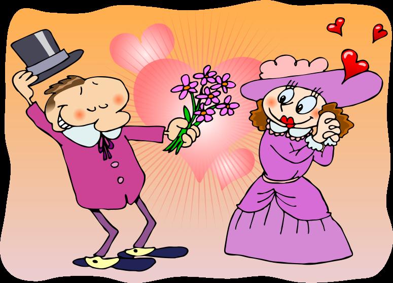 Romance clip art.
