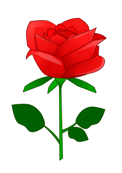 Free to Use & Public Domain Rose Clip Art.