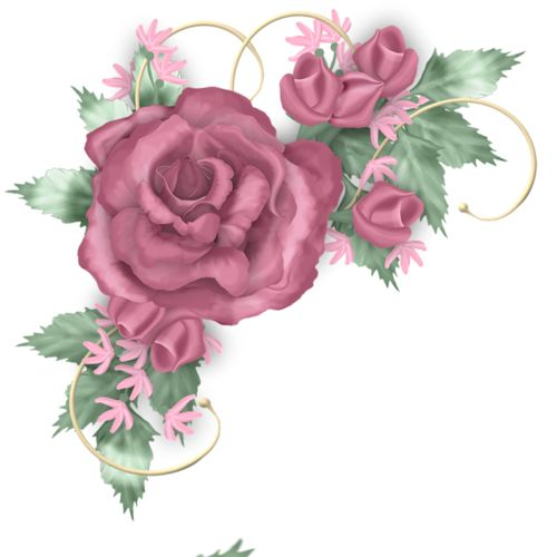 Romance rose clipart #16