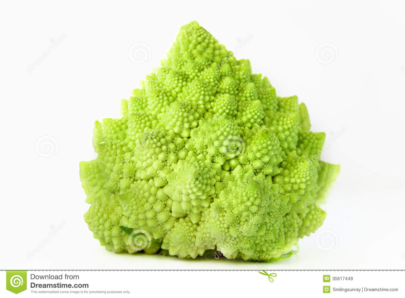 Romanesco Cabbage Royalty Free Stock Images.