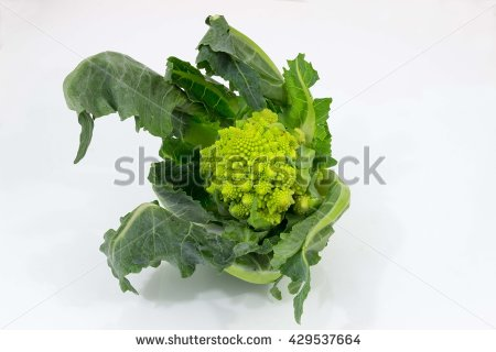 Romanesco Broccoli Stock Photos, Royalty.