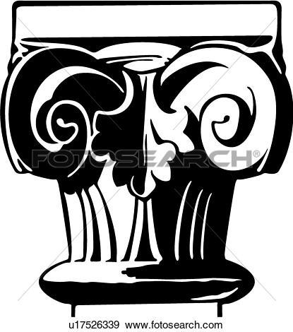 Romanesque Clip Art Illustrations. 254 romanesque clipart EPS.