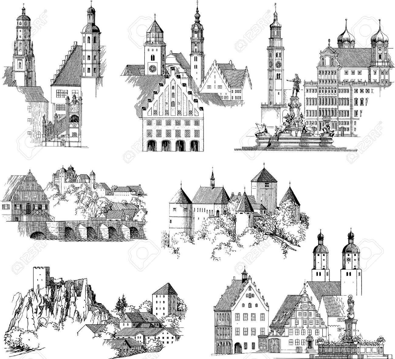 703 Romanesque Stock Illustrations, Cliparts And Royalty Free.