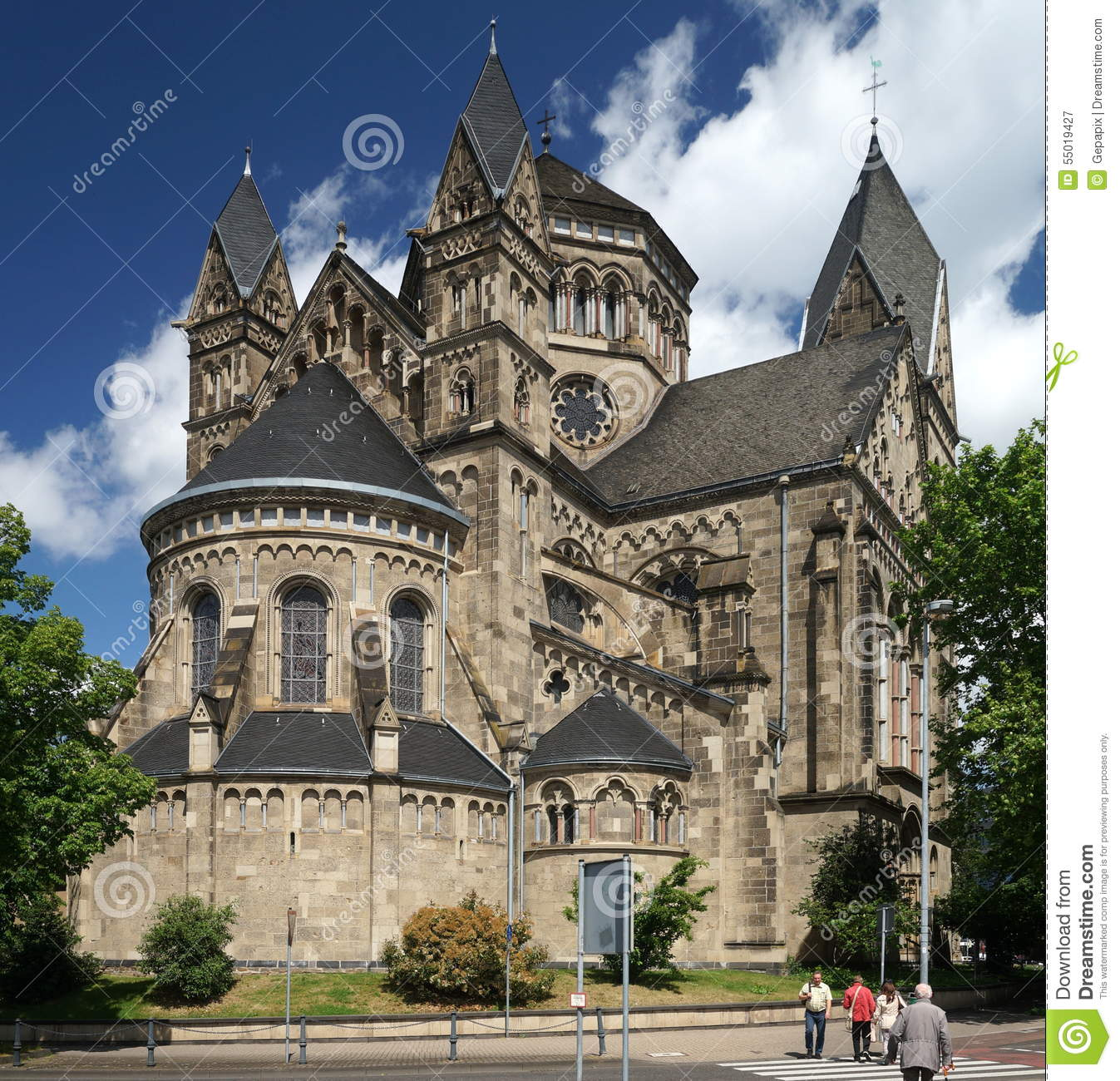Romanesque Revival Editorial Photography.
