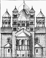 Romanesque clipart