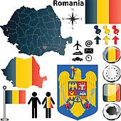 Romania Clip Art.
