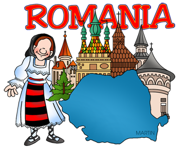 Free Romania Clip Art by Phillip Martin.