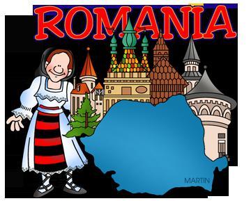 Free Romania Clip Art by Phillip Martin.