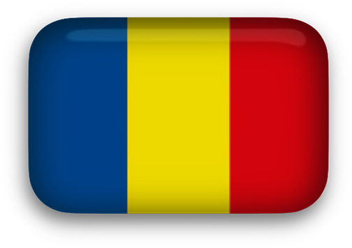 Animated Romania Flags.