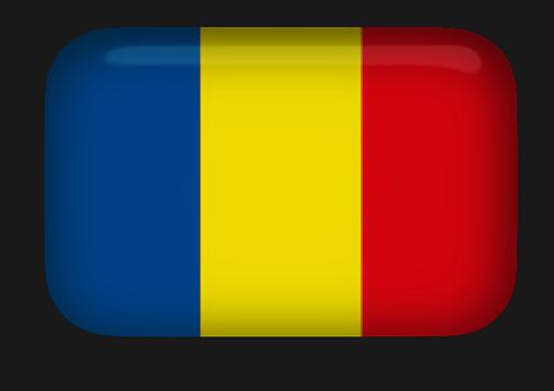 Animated Romania Flags.