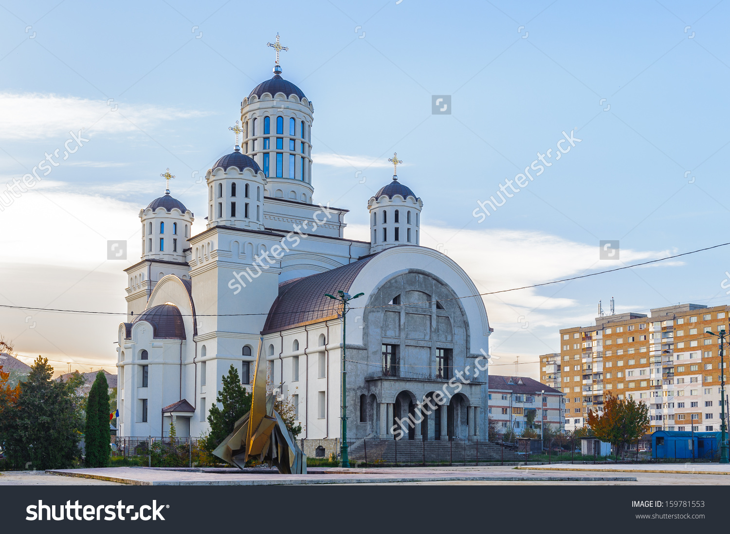 Romanian Orthodox Church Onesti Bacau County Stock Photo 159781553.