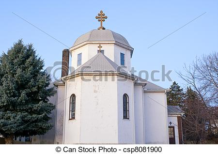 Stock Photography of Romanian Orthodox Church Exterior.