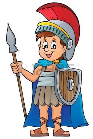 Clipart Roman Soldier.