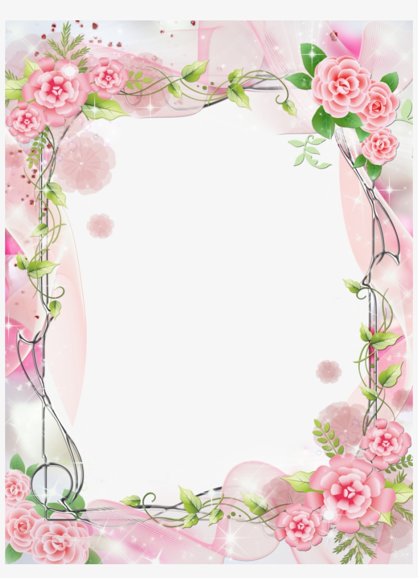 Romantic Frame Png Clipart Picture Frames Garden Roses.