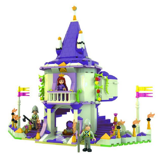 Aliexpress.com : Buy Cinderella's Romantic Castle Queen's palace.