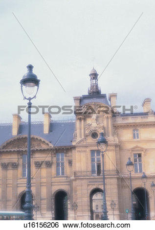 Stock Images of Europe, sky, building, street lamp, romantic, mood.