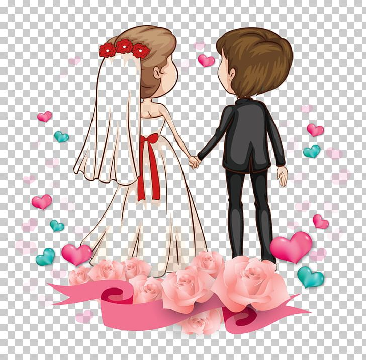 Love Romance Couple Cartoon Marriage PNG, Clipart, Balloon.