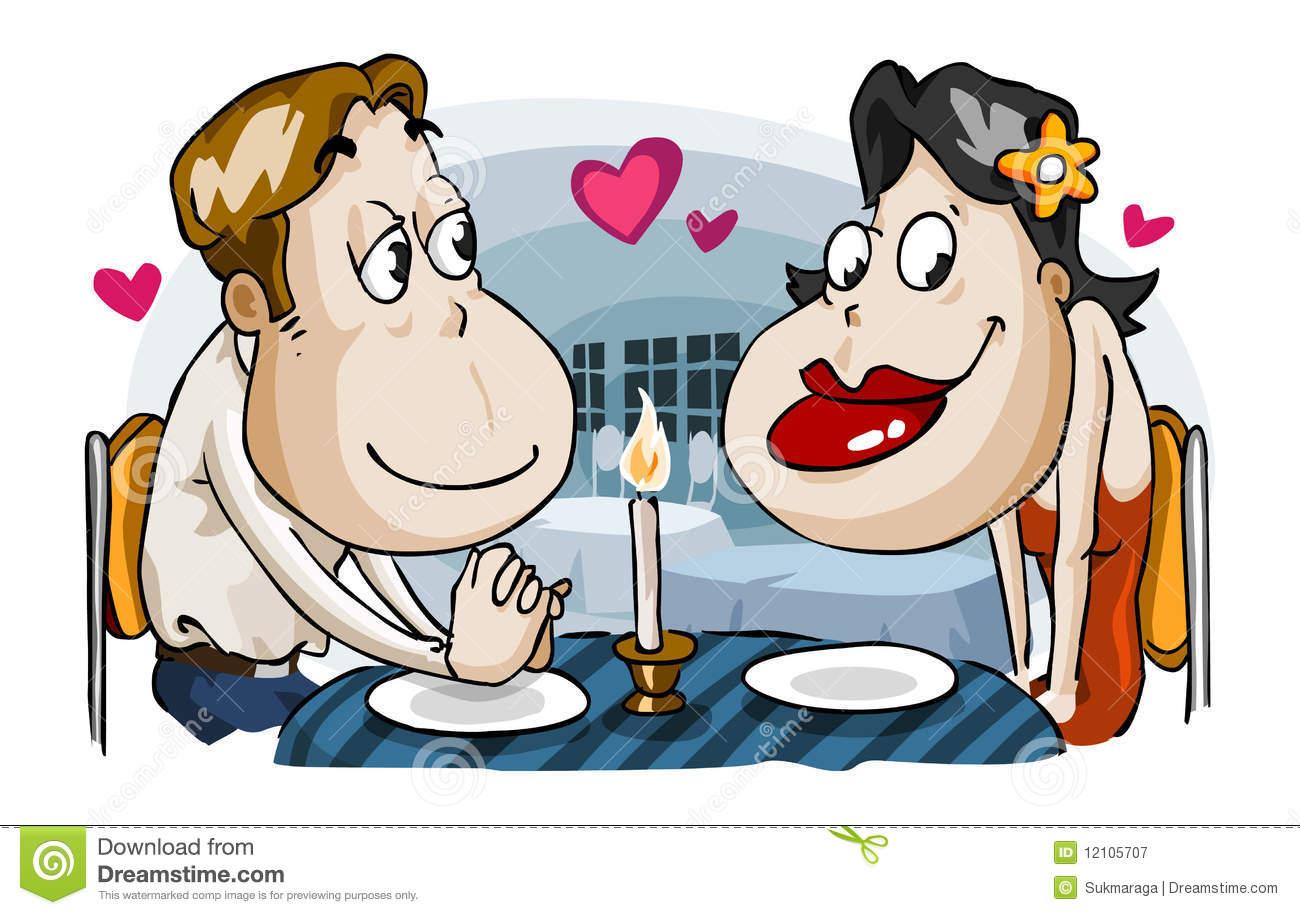 Romantic cliparts.