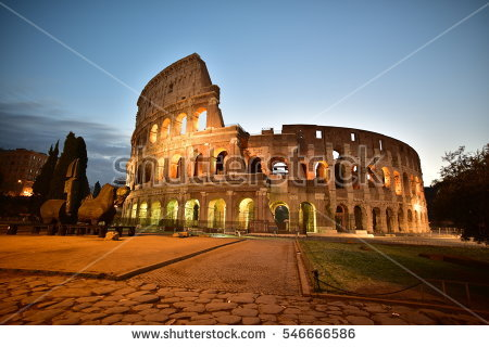 Rome Stock Images, Royalty.