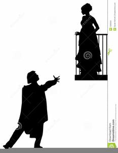 Romeo Juliet Balcony Clipart.
